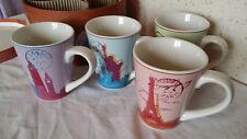 Lot de 4 Tasses, Mug Rosanna