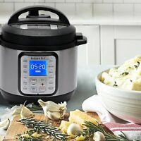 NEW INSTANT POT DUO PLUS 3 QT 9-IN-1 MULTI USE PROGRAMMABLE SLOW PRESSURE COOKER