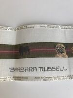 Pug Dog Belt Needlepoint Hand Painted Canvas Barbara Russell