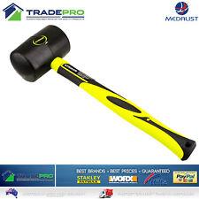Rubber Mallet Hammer 900g 32oz Genuine Striker® PRO H/Duty Fibreglass Handle