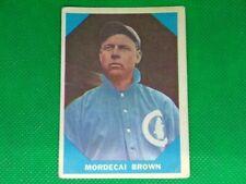1960 Fleer #9 Mordecai Brown