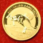 2015 AUSTRALIAN KANGAROO 1/10 oz .999% BU GOLD GREAT COLLECTOR COIN GIFT