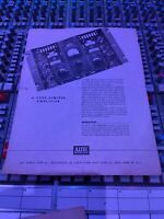 Altec 322C Instruction Manual with schematics (Original)