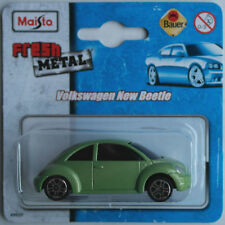 Maisto VW Volkswagen New Beetle grünmetallic Neu/OVP PKW Auto Car Retro ca. 1:60