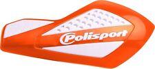 Polisport libre flujo Universal paramanos protectores Naranja Blanco Motocross