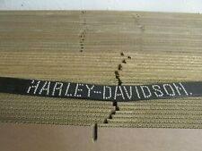 Harley Davidson Womens Leather Belt Made In USA - Size 30 motorcycle biker