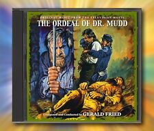 THE ORDEAL OF DR. MUDD Gerald Fried RARE TV SOUNDTRACK