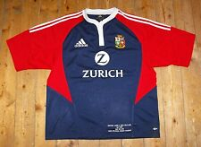 British Lions 2005 Tour Rugby Union Match Détail Broderie Away Shirt-Large