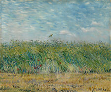 Wheatfield with Partridge by Vincent van Gogh Premium Giclee