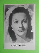 figurines actors stickers akteurs figurine i miti di hollywood 113 ruth roman fg