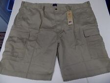 LEVI CARRIER CARGO SHORTS WAIST SIZE 52 -TAN- NWT