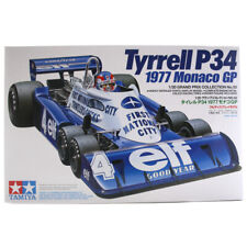 Tamiya Tyrrell P34 1977 Monaco Grand Prix Race Car Model Set Scale 1:20 - 20053