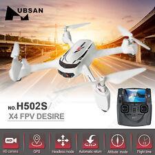 US! Hubsan X4 H502S FPV 5.8G GPS RC Quadcopter Drone 720P HD Camera RTF Airplane