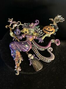 Kirks Folly Divine Diva Witch Purple Pin/Pendant - NEW - Vintage