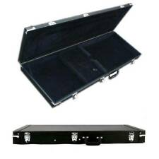 Protable Electric Guitar Square Hard Case w/ Silver Hardware and Lock US Stock