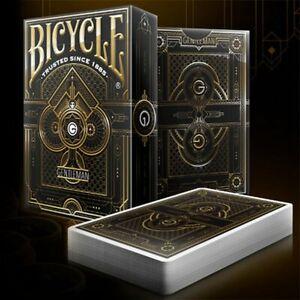 Bicycle - Gentleman - Black Back Poker Spielkarten