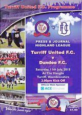 Turriff United v Dundee 11 Jul 2015