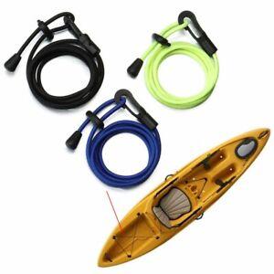 Kayak Paddle Leash Canoe Rope Holder Fishing Rod Tether Satety Fixed Ropes