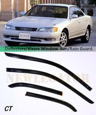 For Toyota Mark II X90 1992-1996 Windows Visors Deflector Sun Rain Guard Vent