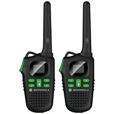 MOTOROLA MD200R 20-Mile Talkabout 2-Way Radio with batteries and charger