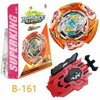 B-161 Beyblade Burst Booster Glide Ragnaruk.Wh.R1 S  with Launcher Box Gift