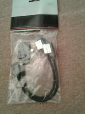 Audi Genuine Adapterset For Apple iPod/iPhone With Lightning Connector