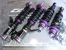 D2 Racing RS Series 36 way Coilovers Lowering Kit Honda Fit 07+ CRZ CR-Z 10+ New