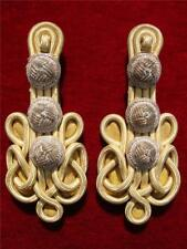 WWI GREECE GREEK ROYAL ARMY MILITARY OFFICER SHOULDER BOARDS  COLONEL EPAULETTES
