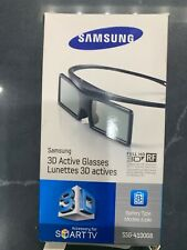 2 Pair Of Samsung Active 3D Glasses SSG-4100GB Black Genuine Samsung New In Box
