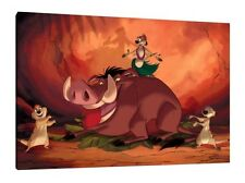 Lion King 30x20 Inch Canvas - VERY rare Disney Framed Picture Print