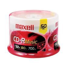 Maxell 625156 - Cdr80mu50pk Music Cd-Rs 50-Pack
