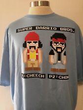 Light Blue Cheech And Chong T-Shirt Size XXL Free Shipping