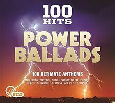 100 Hits: Power Ballads - 5 DISC SET - 100 Hits: Power Ballads (2017, CD NEUF)
