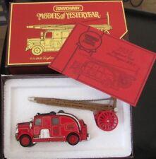 MATCHBOX MODELS OF YESTERYEAR YS-9 1936 LEYLAND 'CUB'  FIRE ENGINE MIB