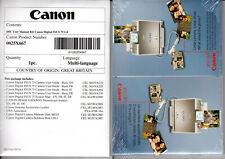 MANUALI MACCHINA FOTOGRAFICA DIGITALE CANON Digital camera IXUS75 Software CD