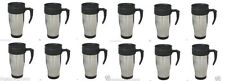 lot 12 x Stainless Steel Insulated Double Wall Travel Coffee Mug CUP 14 OZ NEW!!