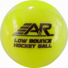 A&R Roller Street Floor Hockey Low Bounce Ball, Yellow, Cold Temperature Use