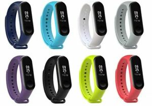 Fits Xiaomi Mi Band 4 or 3 Bracelet Watch Band Wrist Band Strap Replacement