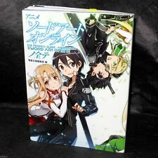 SWORD ART ONLINE - OFFICIAL ANIME GUIDE BOOK NEW