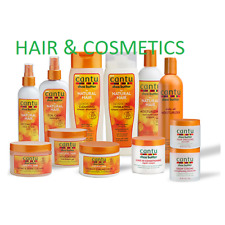 CANTU SHEA BUTTER & NATURAL HAIR CARE AFRO Hair product all items-Full Range!!!