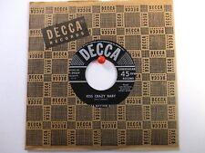 Delta Rhythm Boys  Decca 29329  Kiss Crazy Baby b/w Shoes  Early R&B NM Original