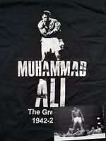Muhammad Ali Cassius Clay T-Shirt R.I.P. Boxing Legend The Greatest Sonny liston