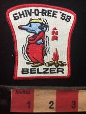 Vtg 1958 BELZER SHIVOREE Boy Scout Patch C76M