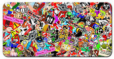 STICKER BOMB CUSTOM LICENSE PLATE JDM HONDA ALUMINUM AUTO TAG NEW
