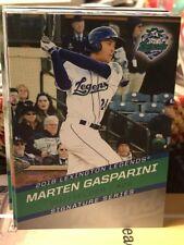 2018 Lexington Legends Marten Gasparini RC Rookie Kansas City Royals