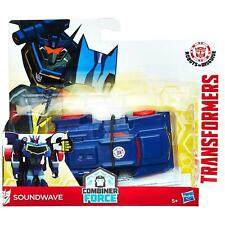 Transformers Robots In Disguise Combiner Force One-Step Changer SOUNDWAVE