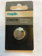 3V Lithium Coin Cell CR2016
