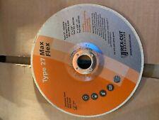 20-Wheel Rhodius 891102 Rex-Cut Max Flex Cotton Fiber Wheel