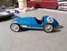 BRUMM 1:43 BUGATTI RACE CAR BLUE #5  DIECAST