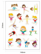 Gymnastic REWARD STICKER for Female gymnast